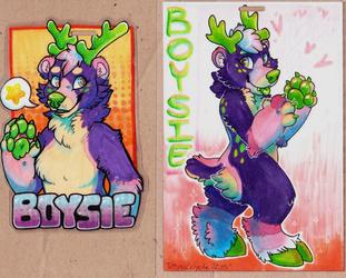 Boysie FWA'15 badges