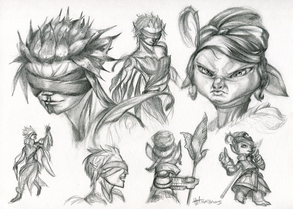 Prelim character study page