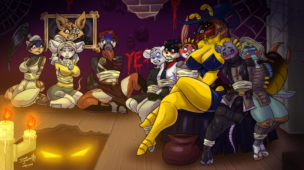 Most recent image: [Comm] Halloween Party