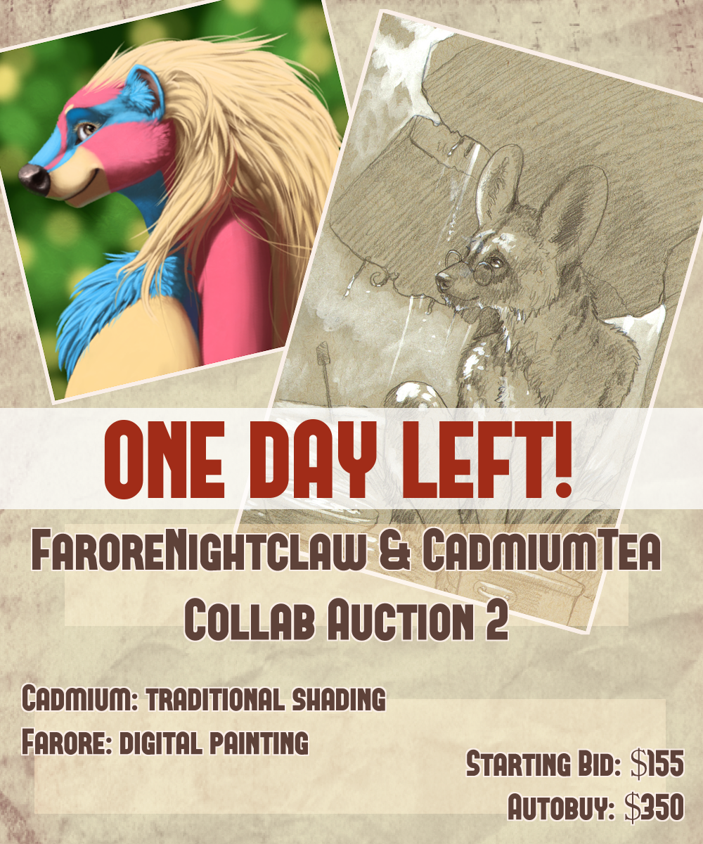 Featured image: Farore x Cadmiumtea Collab Auction! Painting! ONE DAY LEFT!