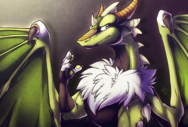 Erematre, the gentle dragon