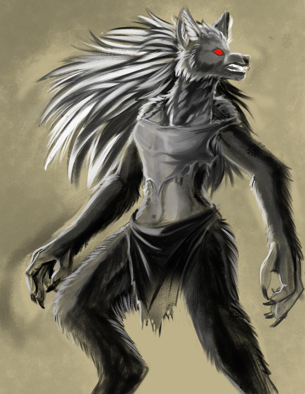 Featured image: Speedpaint: Werewolf
