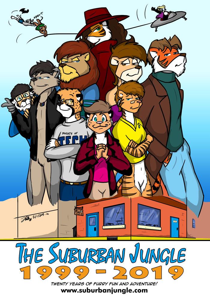 Most recent image: Twenty Years of The Suburban Jungle!
