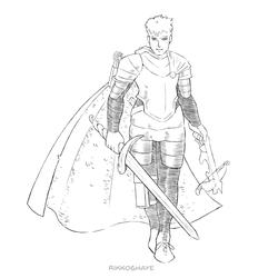 Telvar Cyphrius the Gunslinger