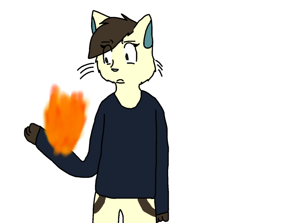 Most recent image: wtf how do u randomly catch on fire