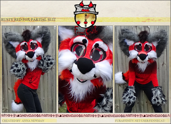 FennéCrafts - Rusty Fox Partial Suit (Refurbished) (2017) (Sold!)
