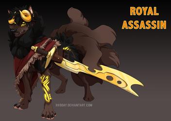[Adoptable] Royal Assassin (Sold)