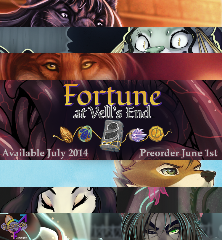 Featured image: [FUROTICON] Fortune at Vell's End - Available July 2014!