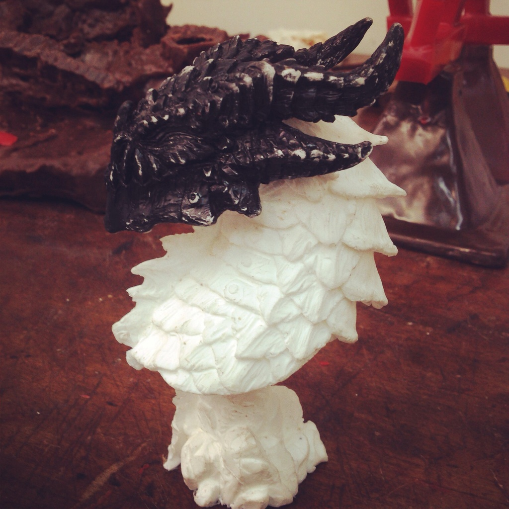 Deathwing Resin Cast