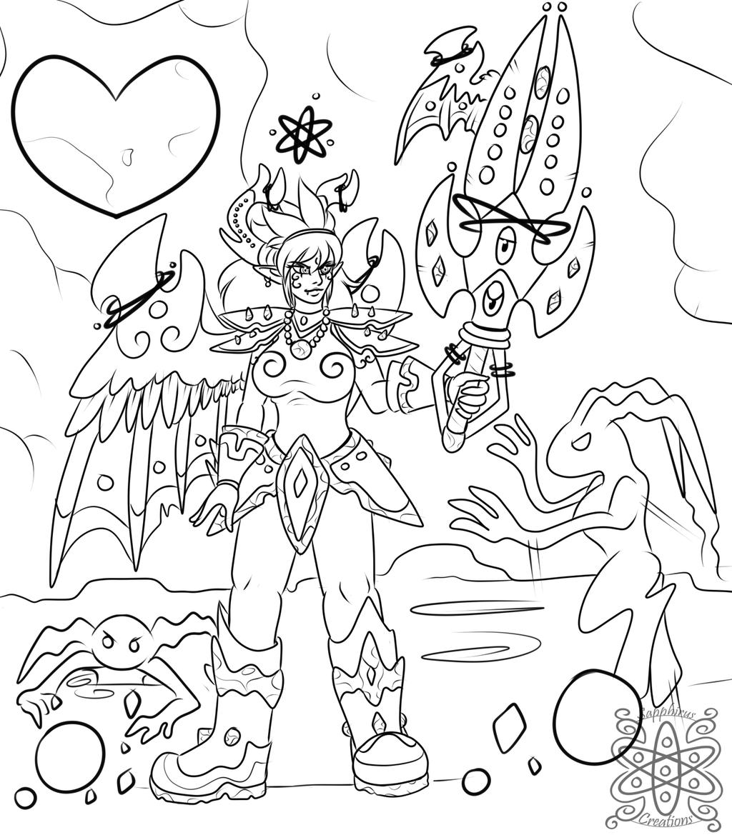 Sapphirus and Kingdom Hearts +WIP+