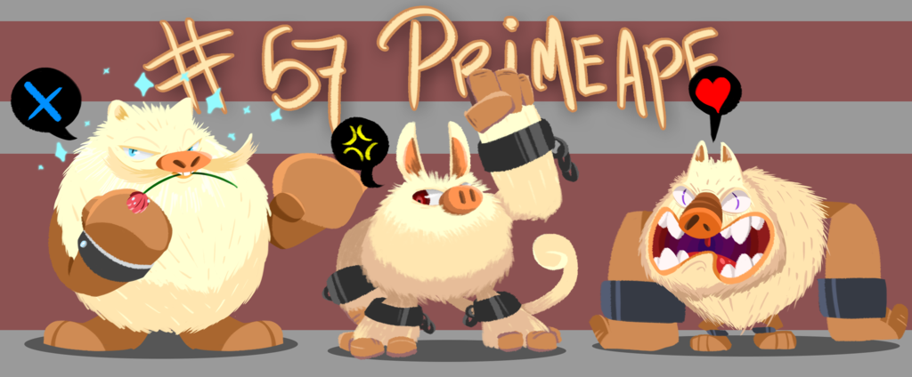 Pokedesign - Primeape