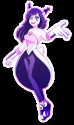 Nicole the Holo-Lynx Gijinka