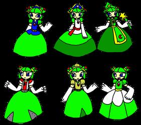 Cosmo Mario Party 2 Dresses