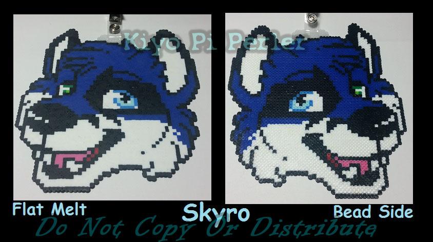 Skyro Badge (Original Pattern)