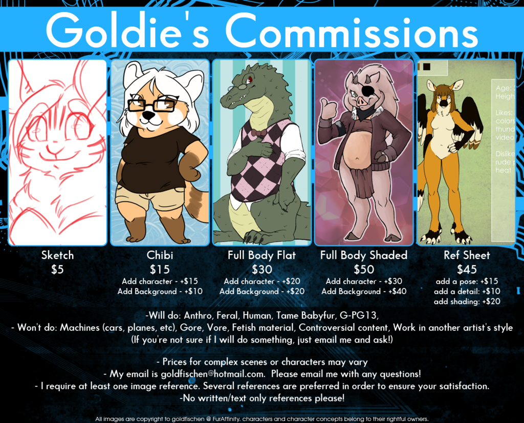 2014 Commission Prices