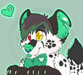 """Plush Icon"" YCH Fin"