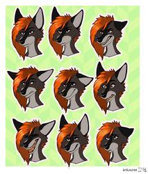 Izzie telegram stickers