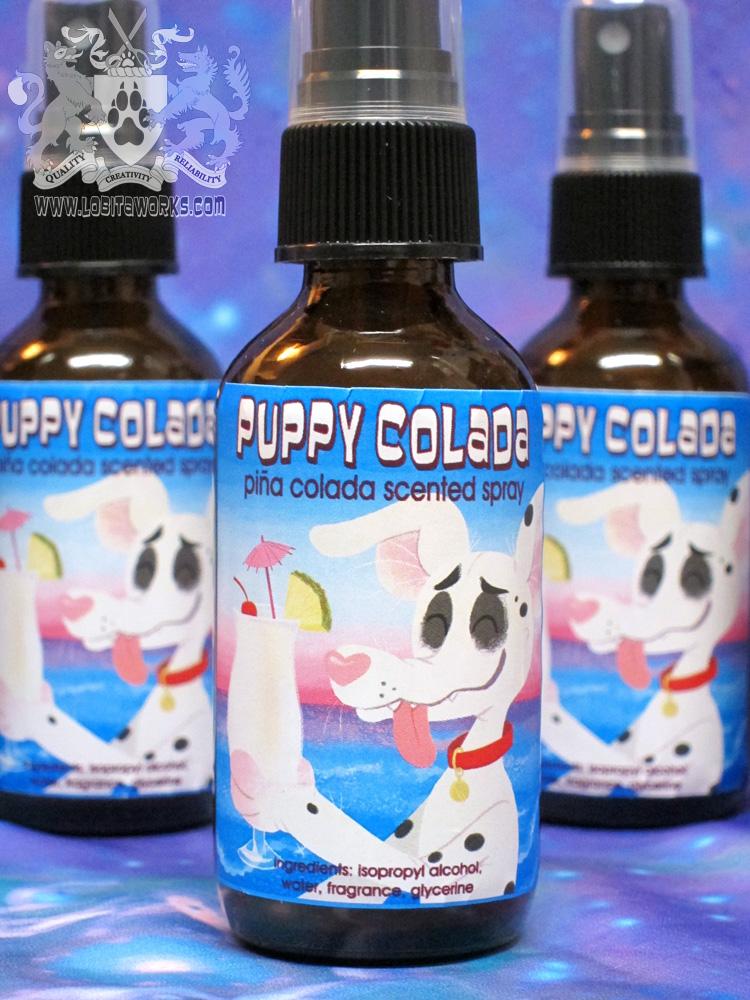 Puppy Colada Fursuit Spray