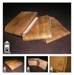 Limited edition leather wallets