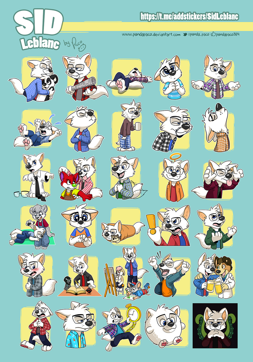 Sid telegram stickers