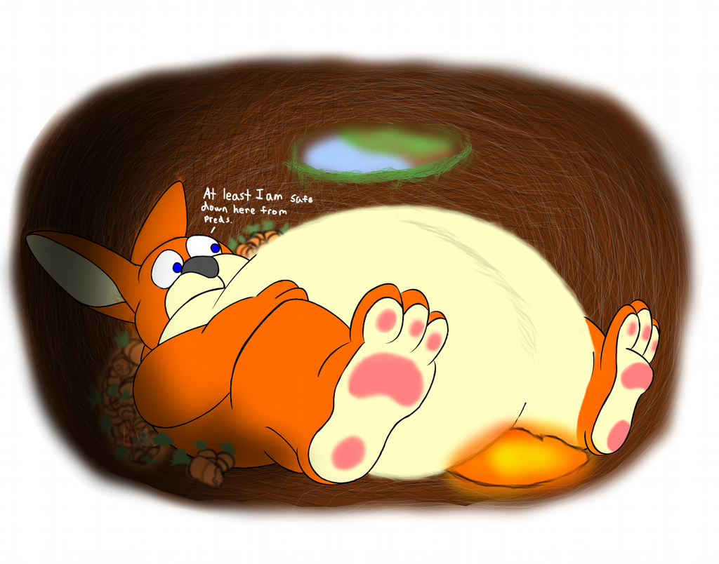 Carrot Binging Leads to Consequences! - by Malley111689