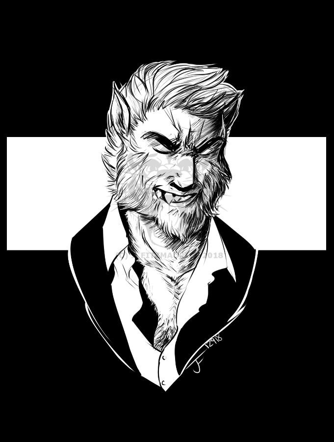 Most recent image: Dapper Wolfman