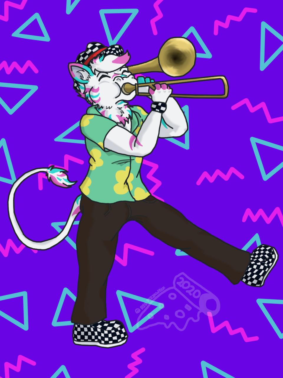 Most recent image: Trumpet dragon