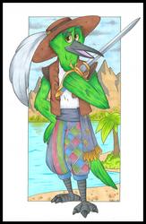 Evodine Nimblepyre, Hummingbird Swashbuckler