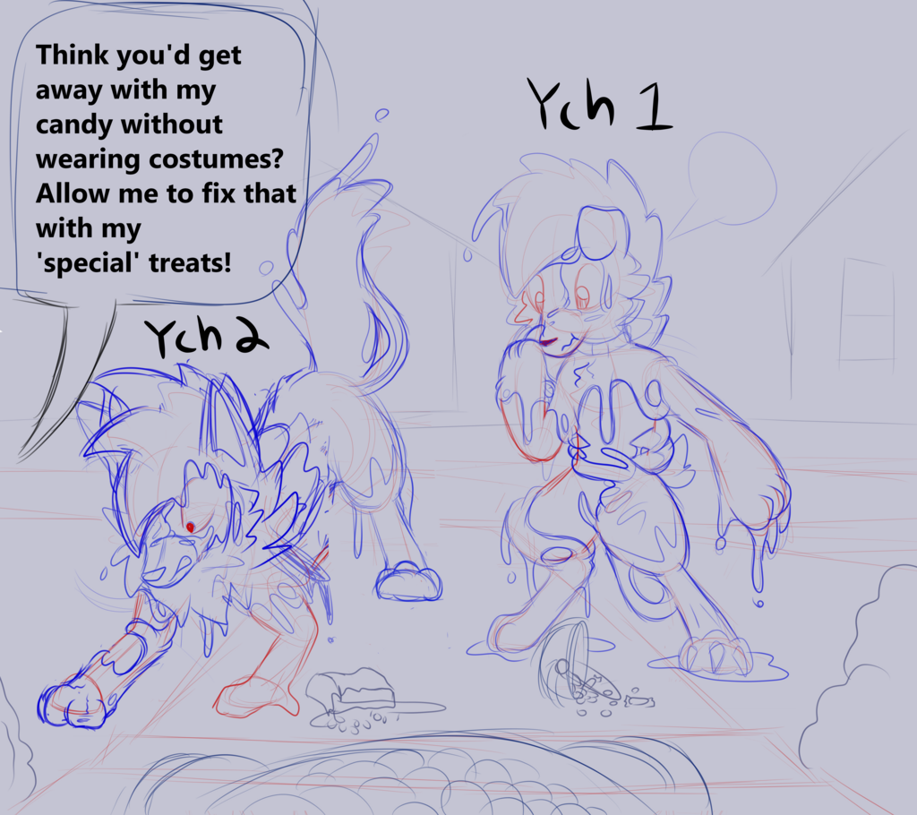halloween lycanroc ych final