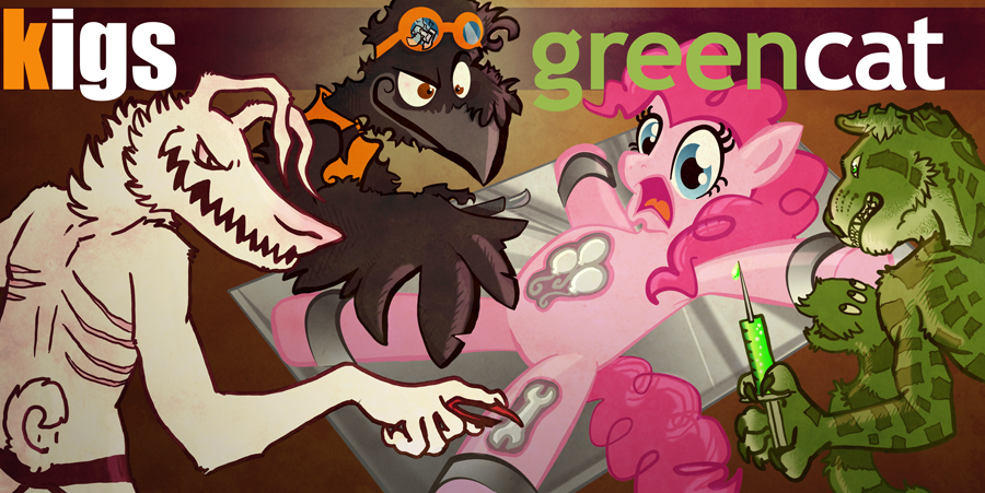 Pinkie Pie Operation - Collaboration with GreenCat