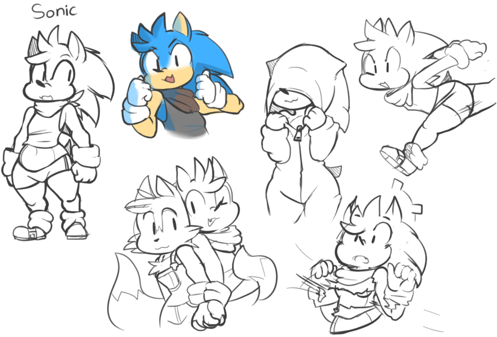 Rule 63 Sonic Page
