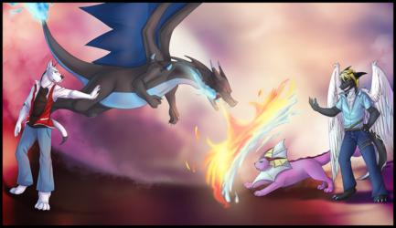 Pokemon battle!
