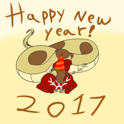 New Years Snake