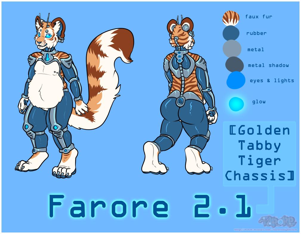 Farore 2.1 - Golden Tabby Tiger