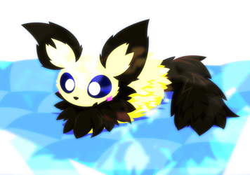 Fluffachu (Extra Sparkly Version)