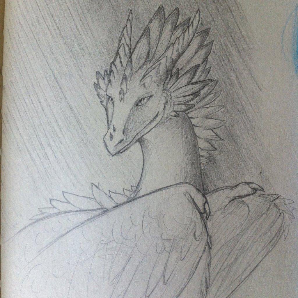 Aku sketch portrait
