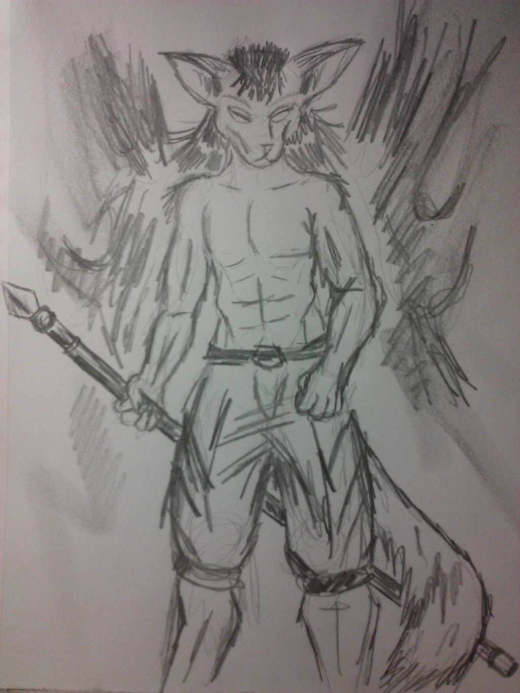 Most recent image: Martial arts canid with no name.