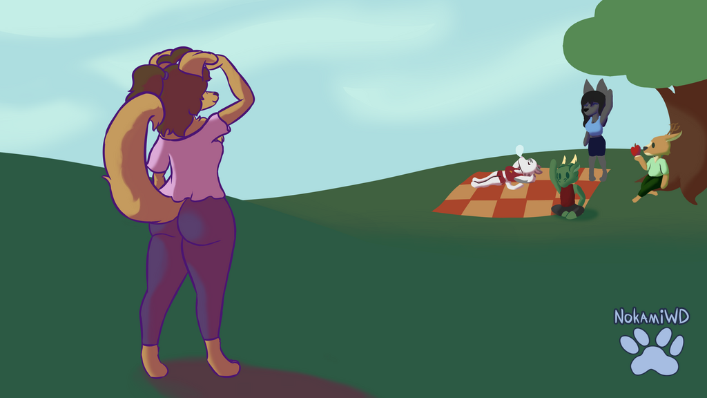 Most recent image: Picnic at the park