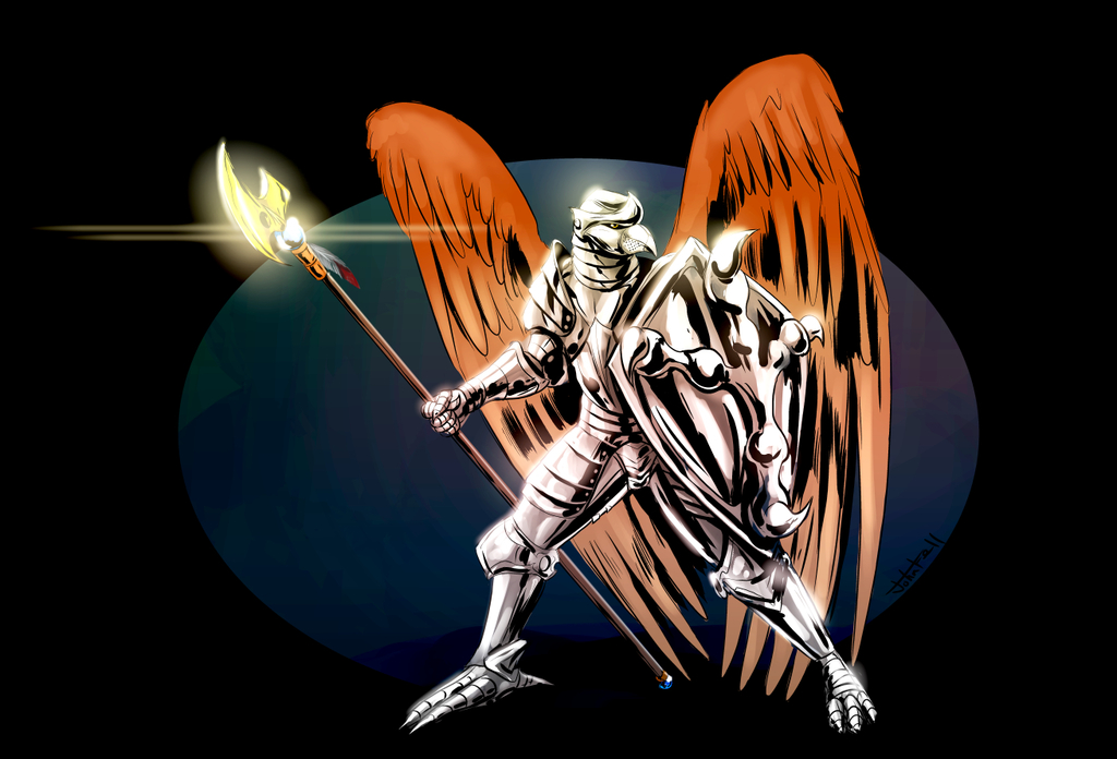 Kawheek in armor