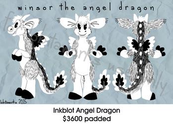 Inkblot Angel Dragon Fursuit FOR ADOPTION