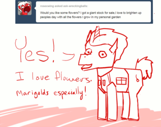 Pony Q&A #19: Would you like some flowers?