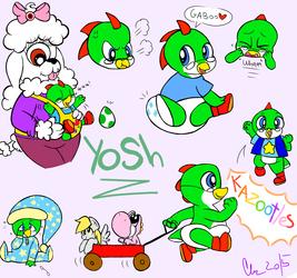 Sketch Blob- Yosh