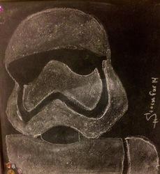 Chalk Stormtrooper