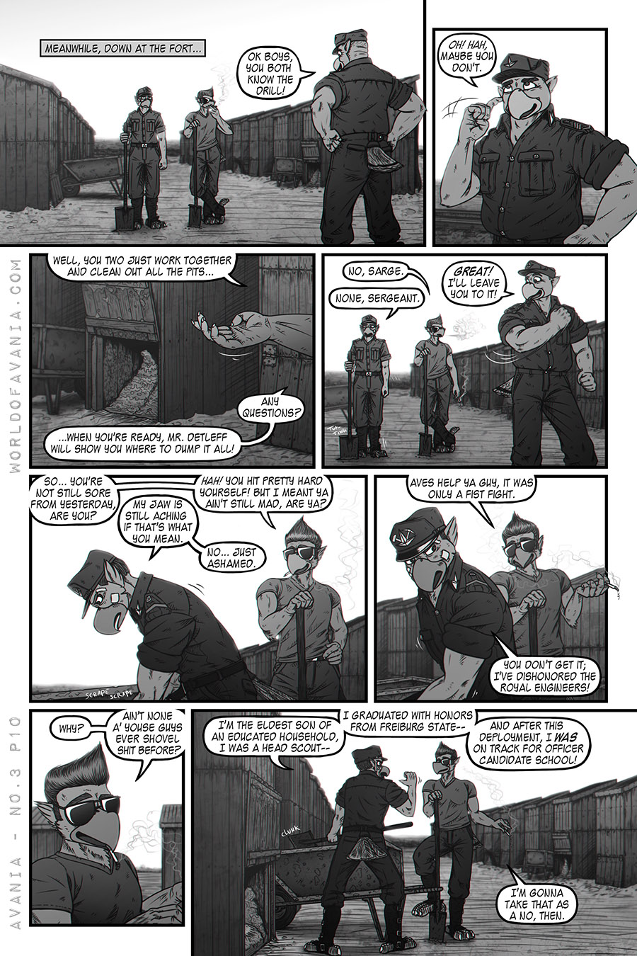 Avania Comic - Issue No.3, Page 10
