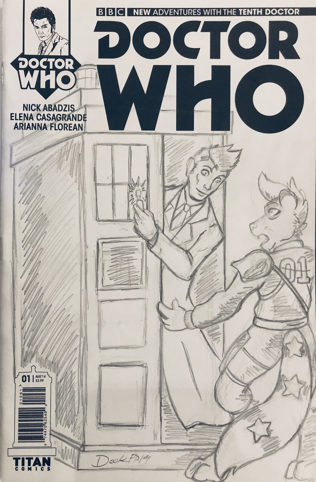 FP - Doctor Who Cover