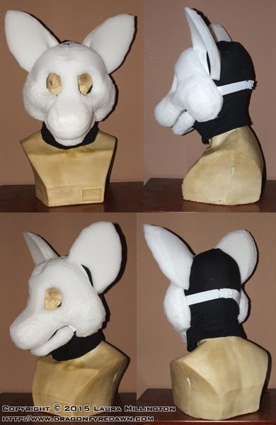 Goldenwolf Mask Base