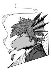 Ink-Profile N°28:Agen the Dragon