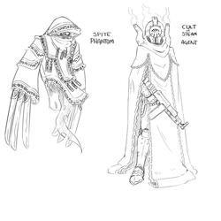 Spite Phantom and Cult of Steam Agent
