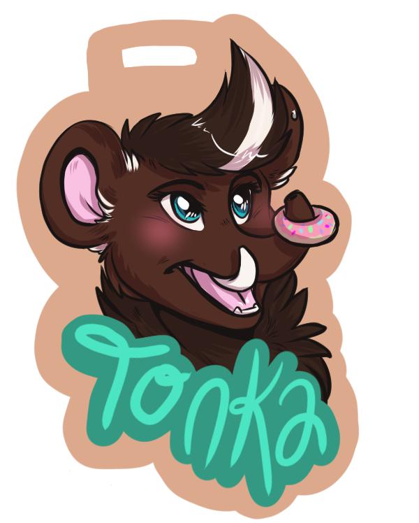 Most recent image: Tonka Badge