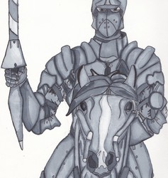 A Lancer in Gray